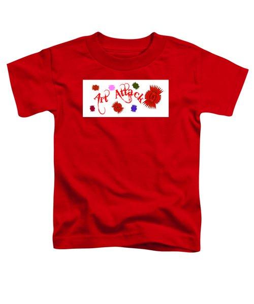 Art Attack  Toddler T-Shirt