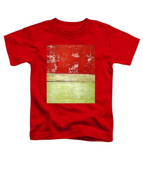 Art Print Rotgelb Toddler T-Shirt