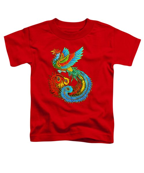 Fenghuang Chinese Phoenix Toddler T-Shirt