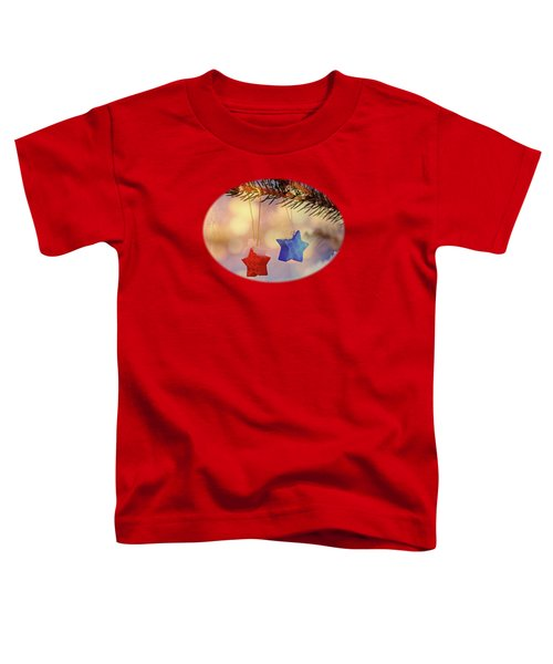 Snowstars Toddler T-Shirt by AugenWerk Susann Serfezi