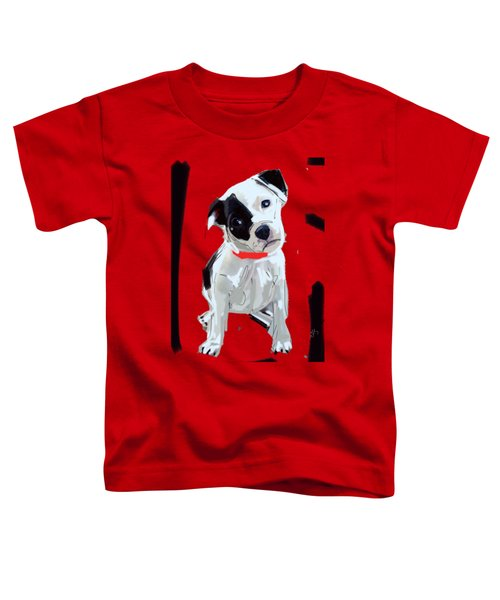 Dog Doggie Red Toddler T-Shirt