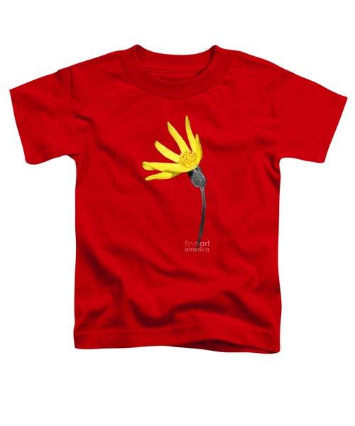 Yellow Wildflower Toddler T-Shirt