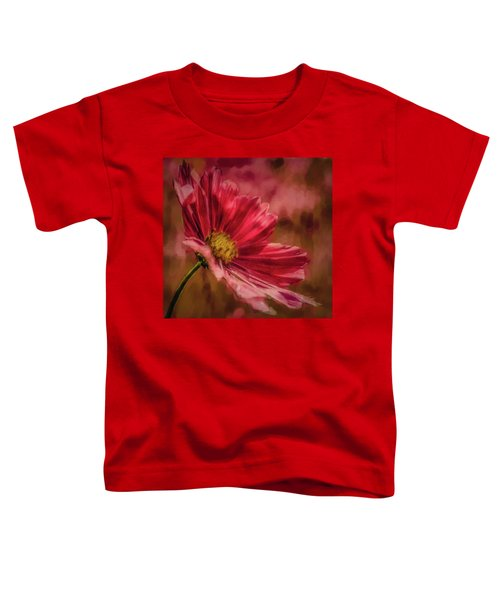 Aster Red Painterly #h1 Toddler T-Shirt