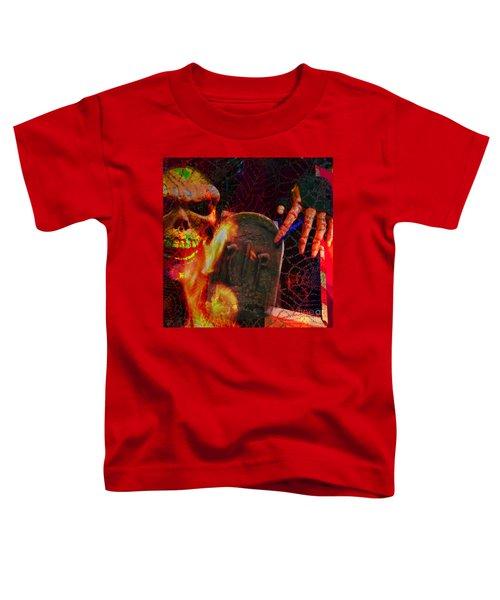 At Night In The Graveyard Toddler T-Shirt