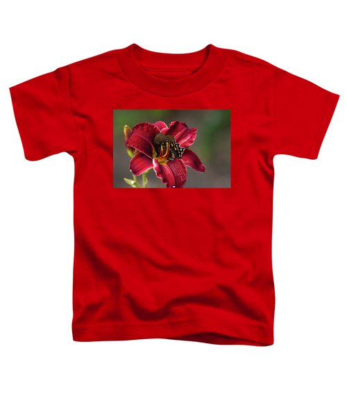 At One With The Orchid Toddler T-Shirt