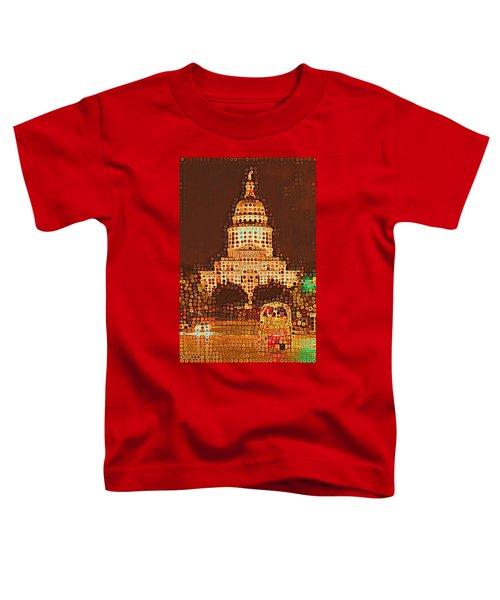 Austin Capitol At Night Toddler T-Shirt