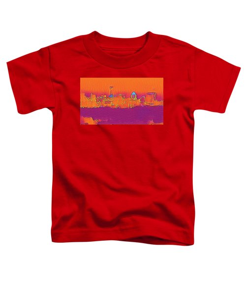 Austin Skyline Electric Toddler T-Shirt
