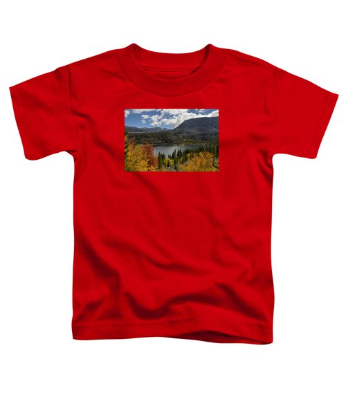 Autumn At Rock Creek Lake Toddler T-Shirt