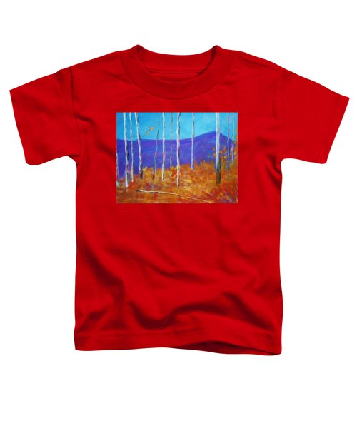 Autumn In Cloudcroft Toddler T-Shirt