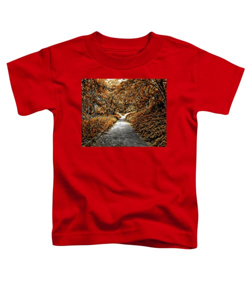 Autumn In Stamford Toddler T-Shirt