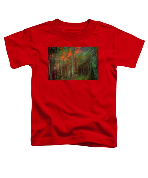 Autumn In The Magic Forest Toddler T-Shirt