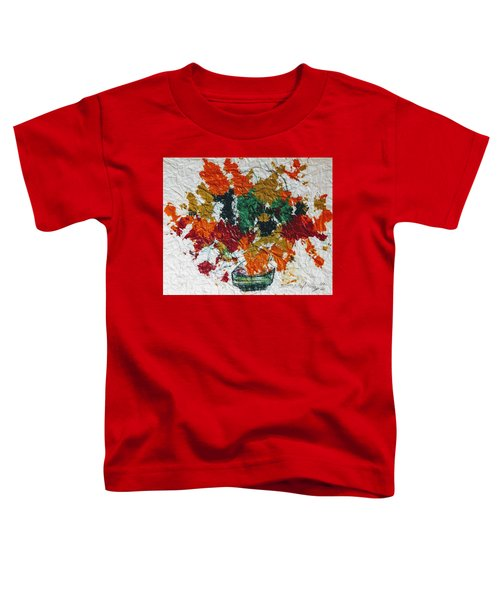 Autumn Leaves Plant Toddler T-Shirt