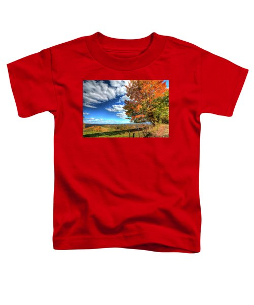 Autumn On The Windfall Toddler T-Shirt