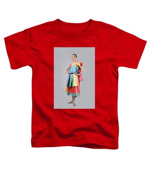 Aviva In Patio Umbrella Dress Toddler T-Shirt