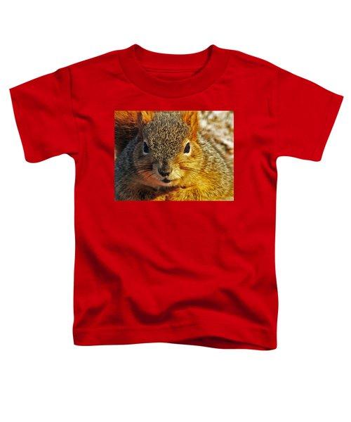 Backyard Squirrel Toddler T-Shirt