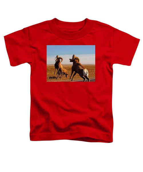 Bang Of The Bighorn Toddler T-Shirt