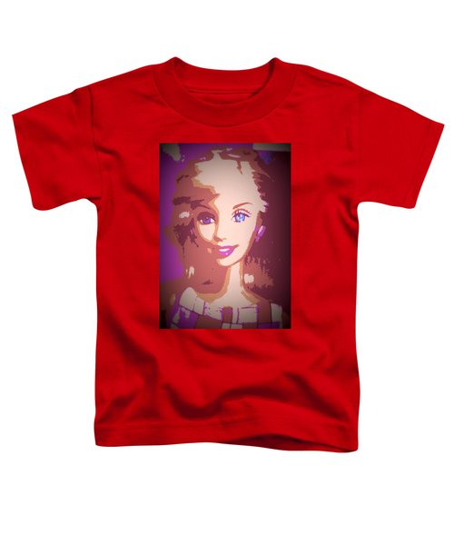 Barbie Hip To Be Square Toddler T-Shirt