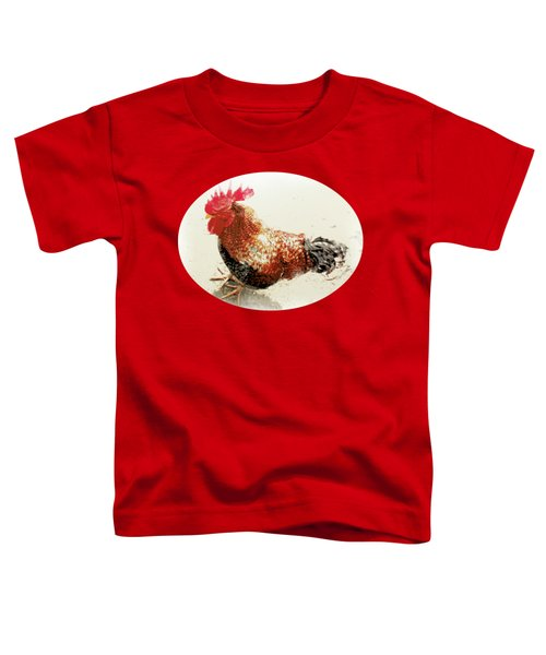 Barnyard Boss Toddler T-Shirt by Anita Faye