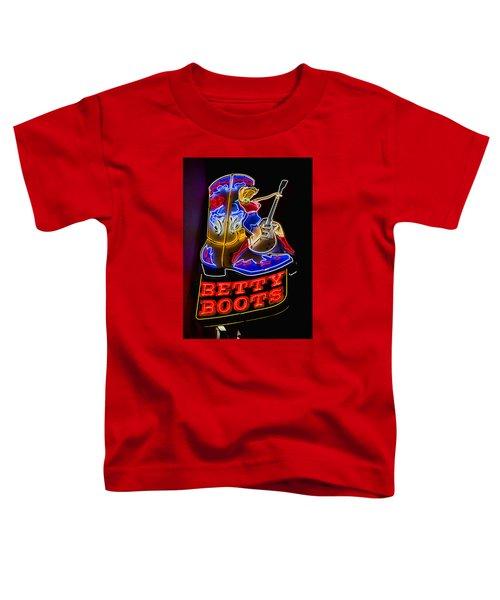 Betty Boots Toddler T-Shirt