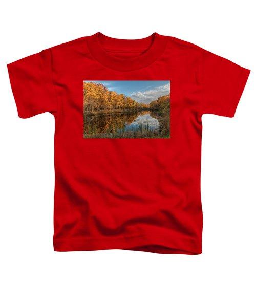 Beyer's Pond In Autumn Toddler T-Shirt