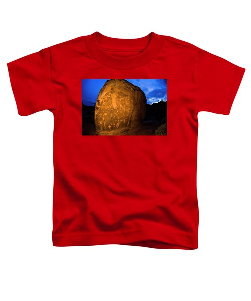 Toddler T-Shirt featuring the photograph Birthing Rock by Whit Richardson