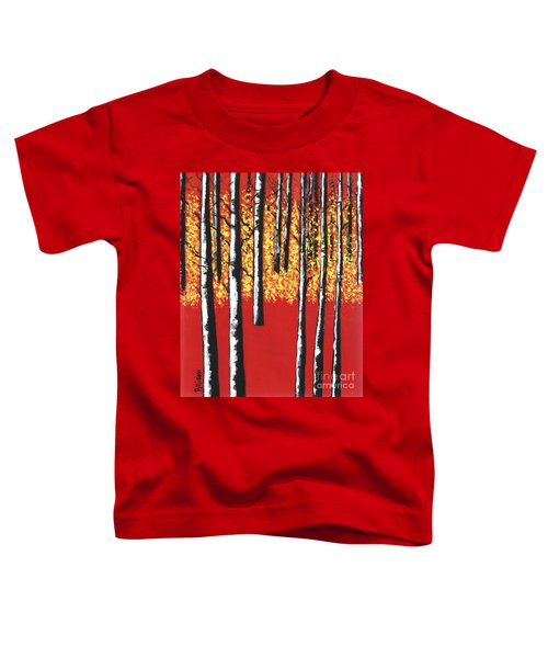 Blazing Birches Toddler T-Shirt