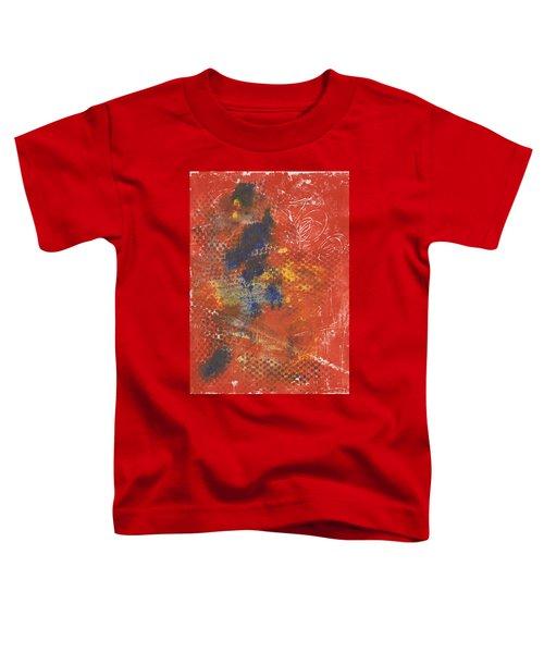 Blue Dancer Toddler T-Shirt