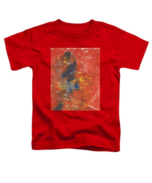Blue Dancer Toddler T-Shirt