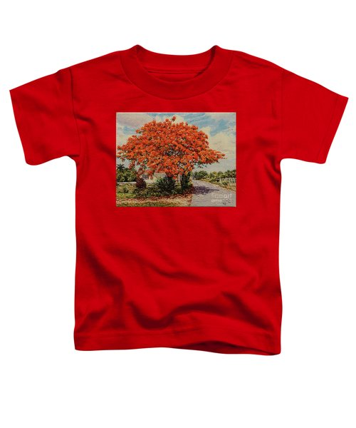 Bluff Poinciana Toddler T-Shirt