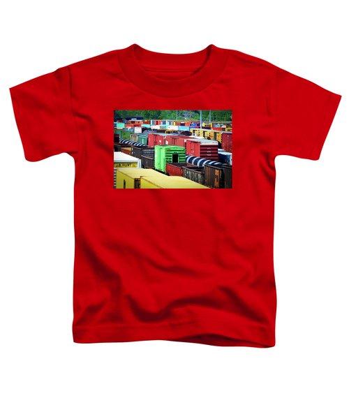 Bnsf Lindenwood Yard Toddler T-Shirt
