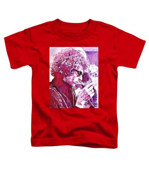 Bob Dylan Toddler T-Shirt