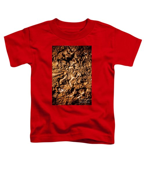 Bones From Ancient Times Toddler T-Shirt