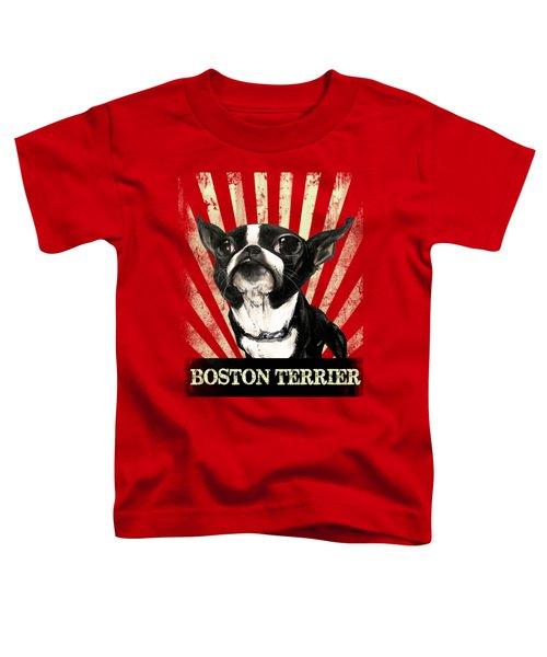 Boston Terrier Revolution Toddler T-Shirt