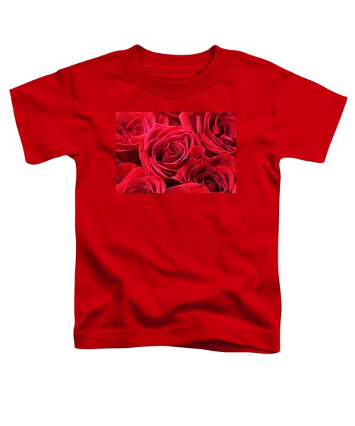 Bouquet Of Red Roses Toddler T-Shirt