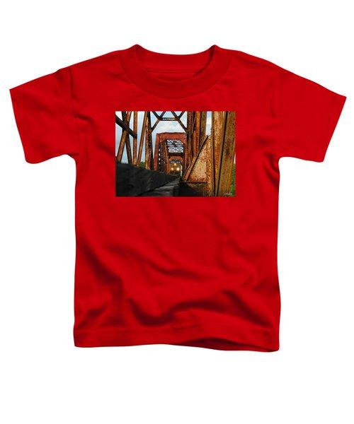 Brazos River Railroad Bridge Toddler T-Shirt