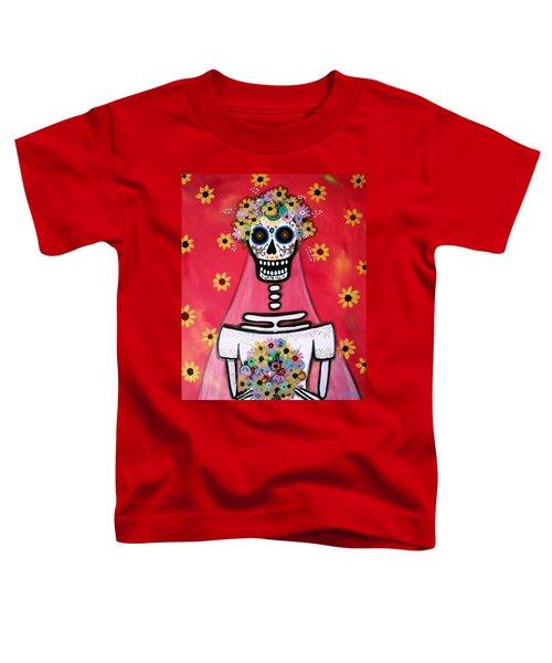 Bridezilla Dia De Los Muertos Toddler T-Shirt