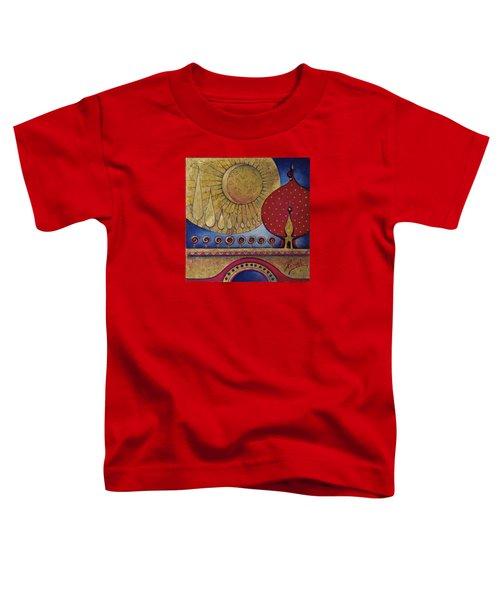 Bridge Between Sunrise And Moonrise Toddler T-Shirt