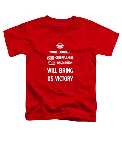 British Ww2 Propaganda Toddler T-Shirt