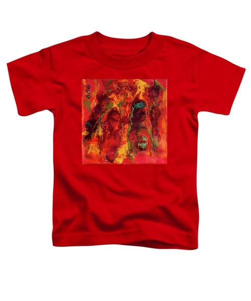Broken Mask Encaustic Toddler T-Shirt by Bellesouth Studio