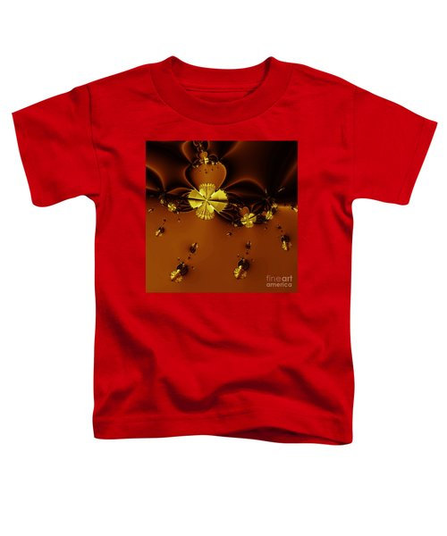 Bumble Beez Over Chocolate Lake . Square . S19 Toddler T-Shirt