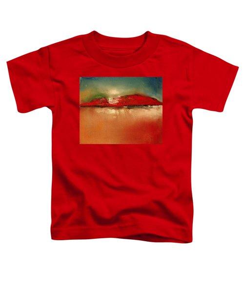Burgundy Mountain Toddler T-Shirt