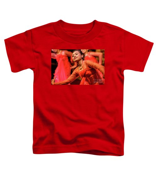 Burmese Dance 1 Toddler T-Shirt by Werner Padarin