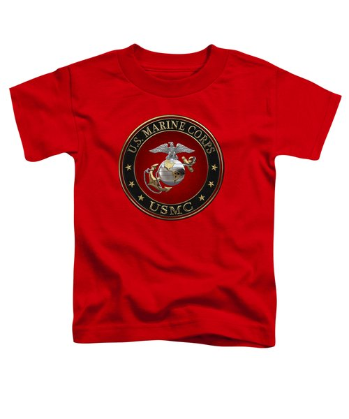 C O And Warrant Officer E G A Special Edition Over Red Velvet Toddler T-Shirt