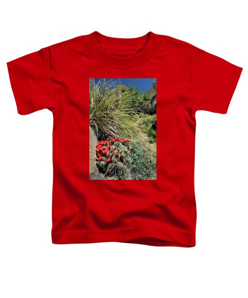 Crimson Barrel Cactus Toddler T-Shirt