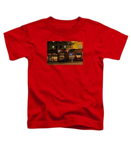 Cafe De La Presse On Bush St Toddler T-Shirt