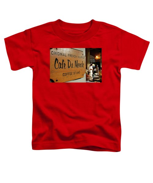 Cafe Du Monde Toddler T-Shirt