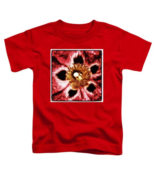 Toddler T-Shirt featuring the photograph Can You Guess What Flower? Hints: It's by Mr Photojimsf