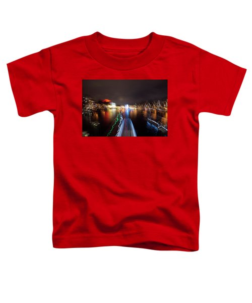 Canal Streaking Abstract Toddler T-Shirt