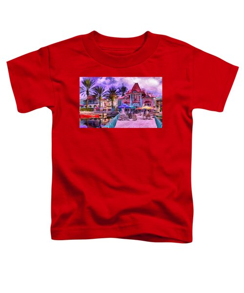 Caribbean Beach Resort Toddler T-Shirt