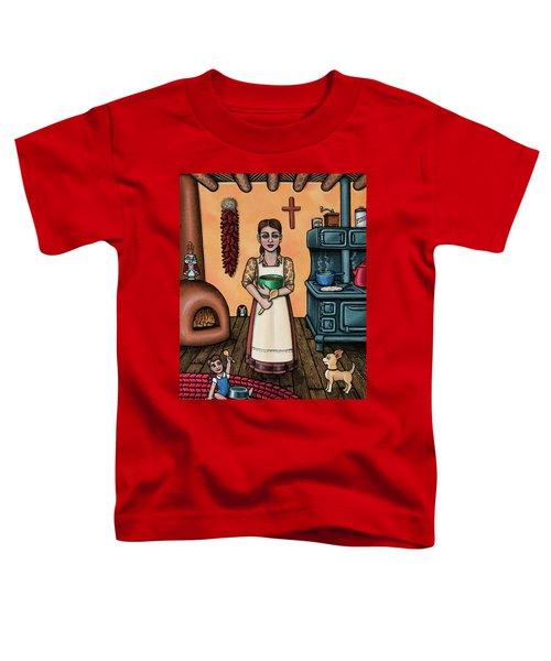 Carmelitas Kitchen Art Toddler T-Shirt